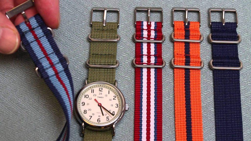 đồng hồ dây vải